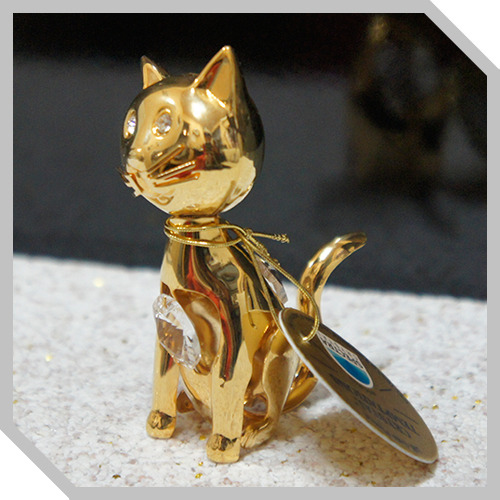 3D크리스탈,Temptation - Gold Cat
