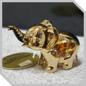 3D크리스탈,Temptation - Gold Elephant